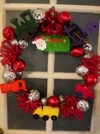 red and black floral wreath Portsmouth, 23703