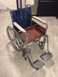 Wheelchair with Footrests