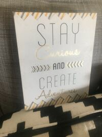 Stay Curious Wall Decor NEPEAN
