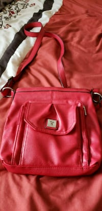 red leather 2-way bag Red Deer, T4R 2J5