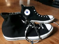pair of black Converse All Star high-top sneakers Surrey, V3R 1E2