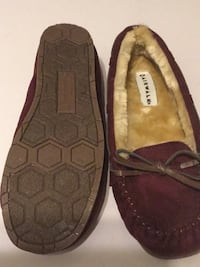 pair of brown Coach leather flats Niagara Falls, L2G 3H9