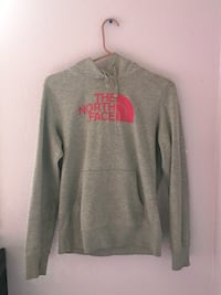 Gray and red the north face pullover hoodie Anchorage, 99567