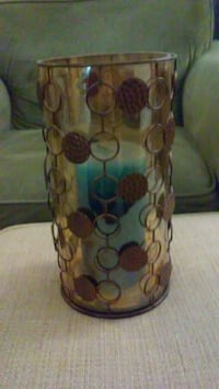 Candle and candle holder 302 mi