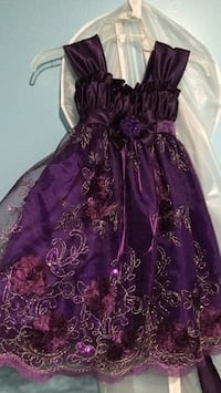 Purple toddler gown Edmonton, T6L 1J9