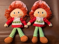 2 vintage Strawberry Shortcake classic soft dolls Sioux Falls, 57103