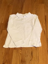 New Girls School Uniform - Long Sleeve Polo - Size 8 Laval, H7X 3X2