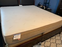 Used King Memory Foam Mattress and Box Springs Virginia Beach, 23452