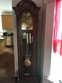 brown wooden grandfather's clock Germantown, 20874