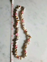 Vintage Hawaiian Style Choker Necklace   - spiral