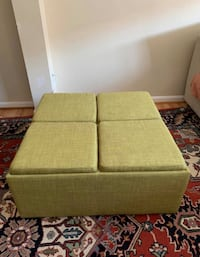 Large Storage Ottoman with Trays Chantilly, 20152