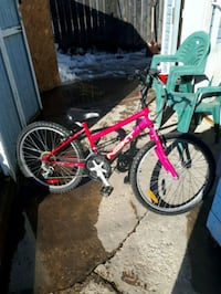 26 inch girls pink bike 6 speed
