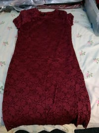 women's red floral lace like dress North Las Vegas, 89032