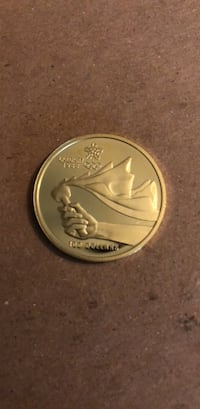 $100 Calgary Olympic Gold Coin Wilmot, N3A