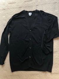 Men's Size Large Black Knit Cardigan $5 Winnipeg, R2V 3P5