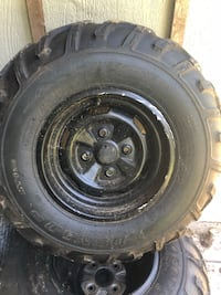 Quad tires and rims  Maple Ridge, V2W 1C4