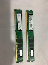 Kingston 2x8= 16 Gb 1600 Mhz Ddr3 Ram