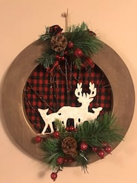 Wooden Christmas wall decor 25 mi