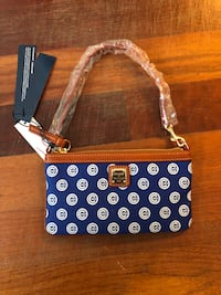 BRAND NEW Dooney & Burke Cubs Purse Chicago, 60657