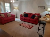beautiful red living room set Riverdale, 30296