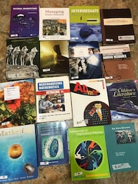 Study books all for only 50$ not negotiable, pick up only at my place.  Toronto, M9A 4M7