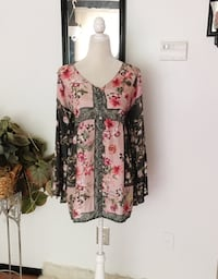 New with Tags Johnny Was Tunic Top Columbia, 21045