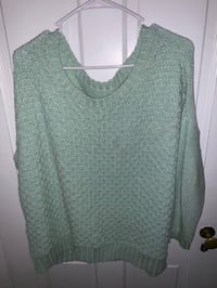 Green Women Sweater 46 mi
