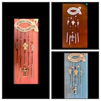 A Friend Loved At All Times Cross Wind Chime Proverbs 17:17 Nashville, 37209