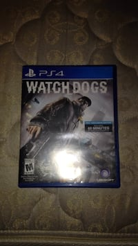Watch Dogs PS4 game case Carol Stream, 60188