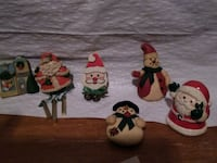 Vintage Christmas magnets excellent condition Hanahan, 29410