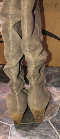 Size 6 Wedge boots