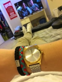 Nixon Gold/Silver watch PURCELLVILLE