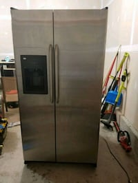 stainless steel side-by-side refrigerator with dis 59 km