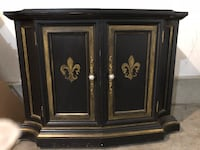 Beautiful buffet or art piece has new knobs 40x20 on top 29 1/2 by 42 1/2 across . Wichita, 67226