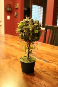 Small Table Top Topiary Artificial Plant Ashburn