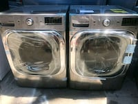 two gray front-load clothes washer and dryer set Bronx, 10457
