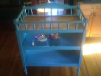 3 in 1 Baby Changing Table , Color is Baby Blue. New Britain