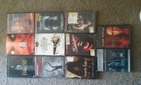 six assorted DVD movie cases Roswell, 88201