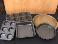 5-Piece Pan Collection (Baking/Cooking) Vaughan, L4L 4Z1