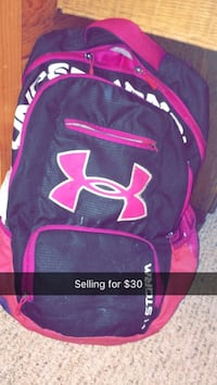 black and pink Under Armour backpack Ocean City, 08226