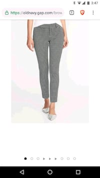 Old Navy Pixie Pants Spring Houndtooth Charlotte, 28213