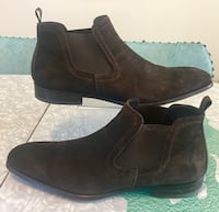 Antonio Maurizi Pre-Owned Mens Brown Suede Chelsea Ankle Boots Size 43 Newmarket, L3Y 3S1