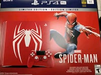 Ps4 Pro Spiderman Limited Edition (Unopened) North Vancouver, V7R 1Y8
