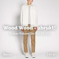 WoodWood Tristan Trouser Bergen, 5010