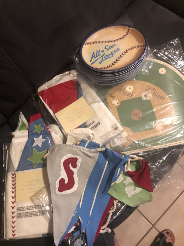 Used Pottery Barn Kids Baseball For Sale In Wesley Chapel
