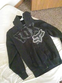 black and gray zip-up hoodie Takoma Park, 20912