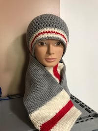 Sock Monkey Hat & Scarf Handmade Kitchener, N2E 2J8