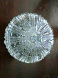 Bohemian Lead Crystal Candy Dish Washington