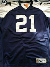 blue and white NFL jersey Washington