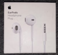Apple EarPods box Silver Spring
